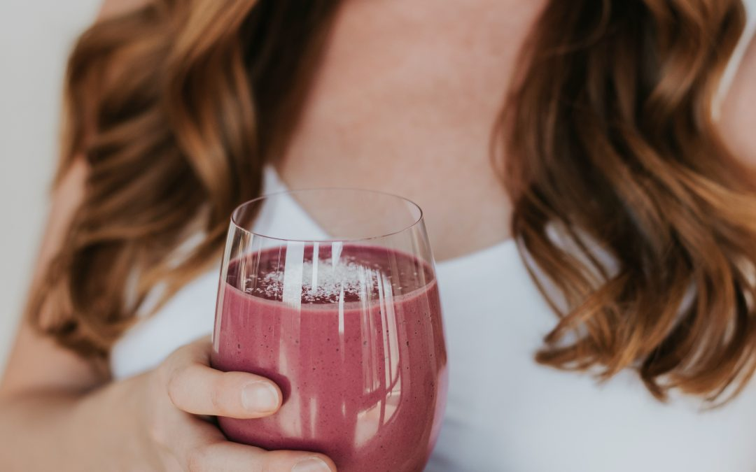 Pretty in Pink Postpartum Smoothie