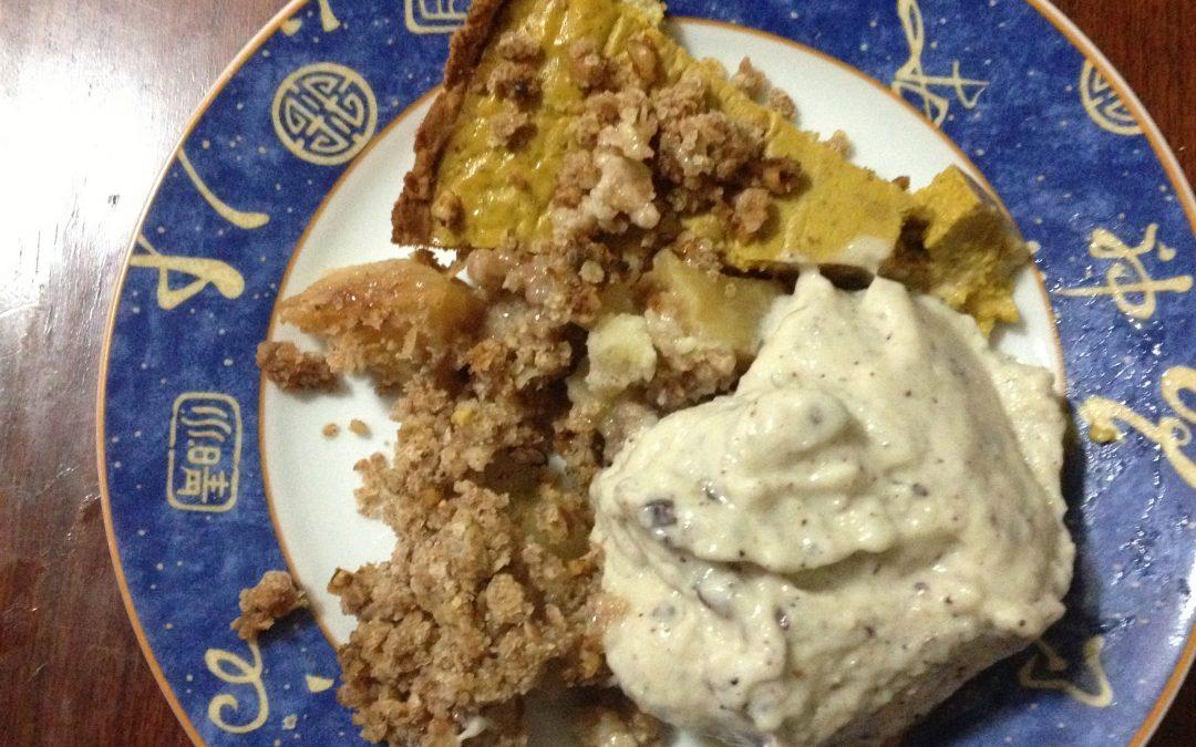 Gluten, Dairy & Sugar Free Pumpkin Pie