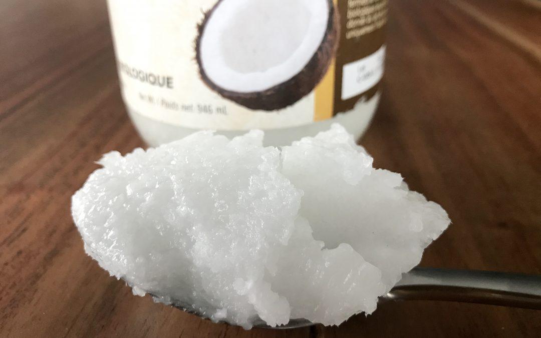 Coconut oil is healthy.  It's always been healthy.